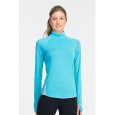 Icebreaker - Pace W's Long Sleeve Half Zip Glacier, Mountainproshop.com