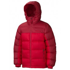 Marmot - Boy's Guides Down Hoody Team red