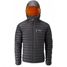 Rab microlight alpine jacket beluga/squash