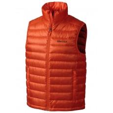 Marmot Zeus vest men sunset orange
