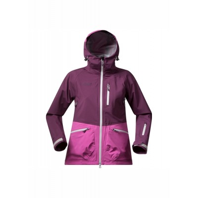 Bergans Myrkdalen lady jacket plum/pink rose