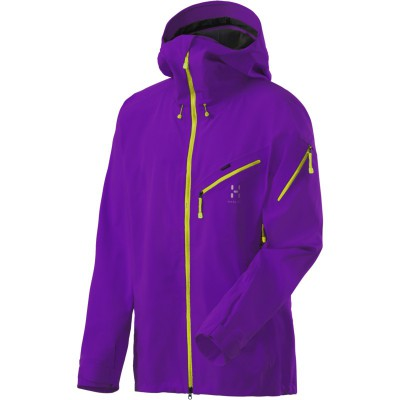 Haglöfs - Couloir Pro Jacket M's Imperial Purple, Mountainproshop.com
