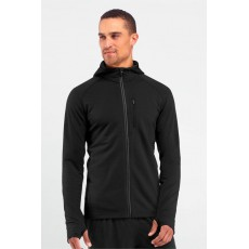 Icebreaker - Quantum Long Sleeve M's Zip Hood Black, Mountainproshop.com