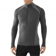 Smartwool - M's Lightweight zip T Graphite, Mountainproshop.com