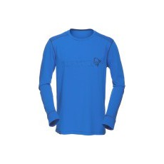 Norrona /29 Cotton long sleeve M's Electric blue