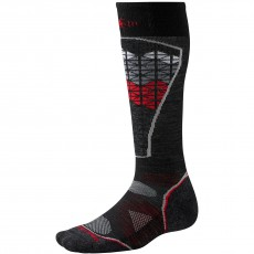 Smartwool PHD Ski Light Pattern Black/red