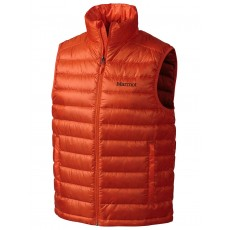 Marmot Zeus vest men sunset orange