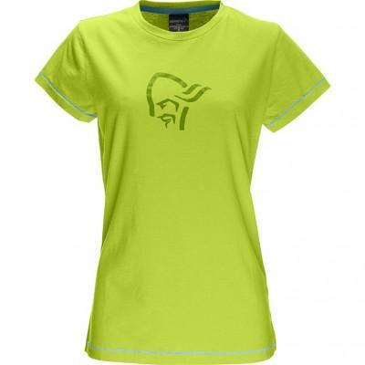 Norrona /29 Cotton Logo T-Shirt W's Birch Green