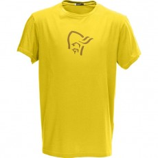 Norrona /29 Cotton Logo T-Shirt M's Mellow Yellow