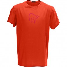Norrona /29 Cotton Logo T-Shirt M's Hot Chili