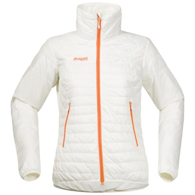 Bergans Uranostind Insulated Lady Jacket White/Pumpkin
