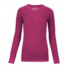 Ortovox 210 Supersoft Long sleeve Women Dark very berry