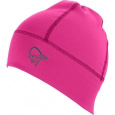 norrona falketind lightweight powerstretch beanie grafiti pink