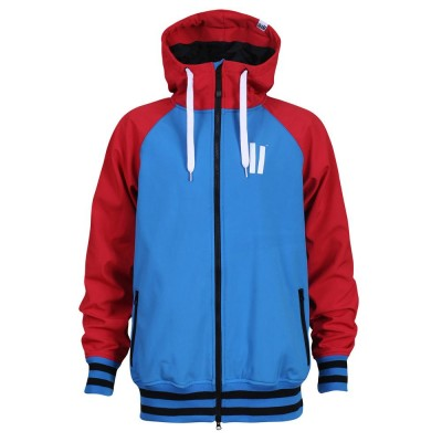 Planks Reunion men softshell sky