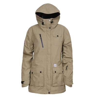 Planks good times women jacket sand