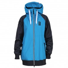 Planks Reunion women softshell blue