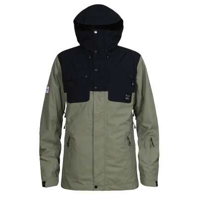 Planks feel good men 2 layer jacket army