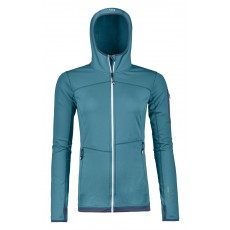 Ortovox Fleece Light Hoody Women Aqua