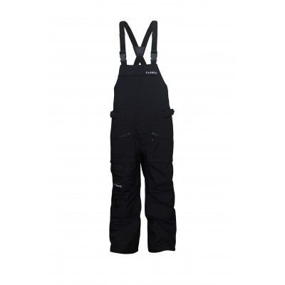 Planks Yeti Hunter Men 3 Layer Bib Pant Black