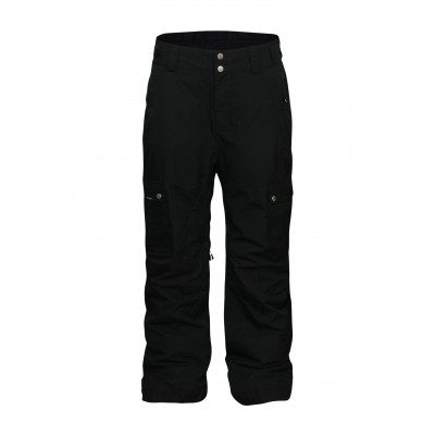 Planks Good Times Men 2 Layer Cargo Pant Black