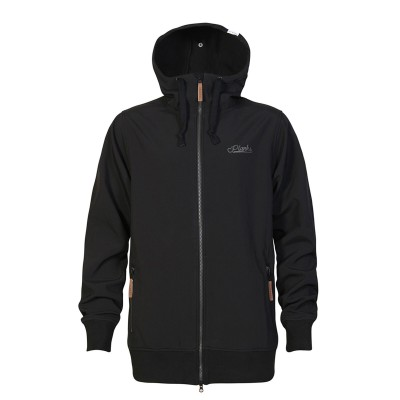 Planks Dropout Softshell Men Black