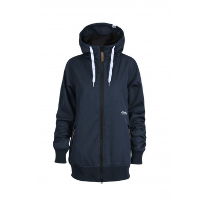 Planks Dropout Softshell Women Navy