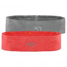 Kari Traa kristina Headband 2PK Coral