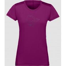 Norrona /29 Tech Tee Shirt Women Dark Purple