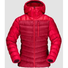 Norrona Lyngen Down 850 Hood Jacket Woman Jester Red