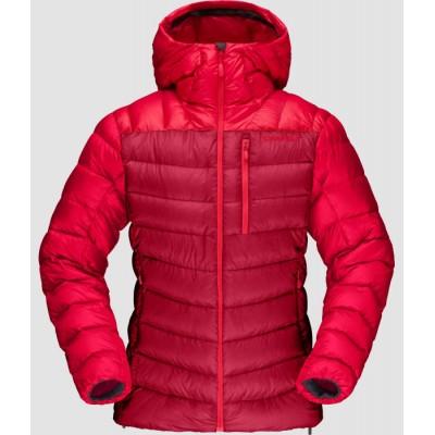 Norrona Lyngen Down 850 Hood Jacket Woman Jester Red