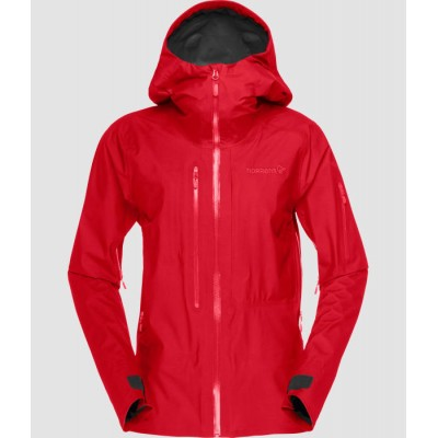 Norrona Lofoten Gore Tex Active Jacket Women Jester Red