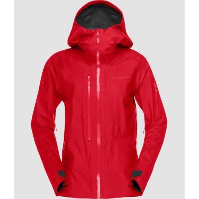 Norrona Lofoten Gore Tex Active Jacket Women Jester Red