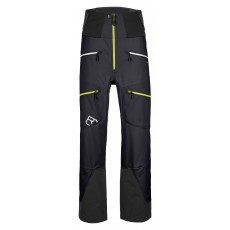 Ortovox Pants Guardian Shell Men Black Raven Mountain Pro Shop Val d'isère
