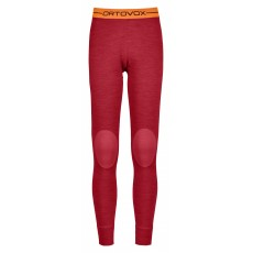 Ortovox 185 Rock'N'Wool Long Pants Women Hot Coral Blend Mountain Pro Shop Val d'isère