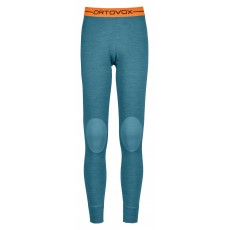 Ortovox 185 Rock'N'Wool Long Pants Women Aqua Blend