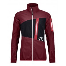Ortovox Tofana Jacket Women Dark Blood Mountain Pro Shop Val d'isère