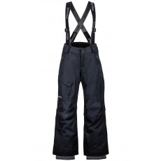 MARMOT Boy's Edge Insulated Pant Black Mountain Pro Shop Val d'isère