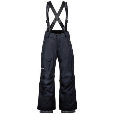 MARMOT Boy's Edge Insulated Pant Black Mountain Pro Shop Val d'isère