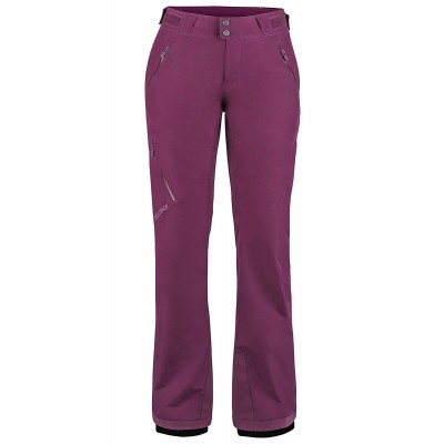 Marmot Women Lightray Pant Dark Purple Mountain Pro Shop Val d'isère