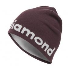 Black Diamond Brand Beanie Bordeaux / Aluminium Mountain Pro Shop Val d'isère