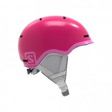 Salomon Casque Grom Junior Glossy Pink