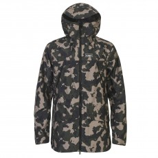 Planks Yeti Hunter Shell Men Jacket Stone Camo Mountain Pro Shop Val d'isère