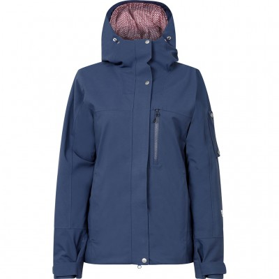 Black Crows Corpus Insulated Stretch Jacket Women Dark Denim Mountain Pro shop val d'Isère