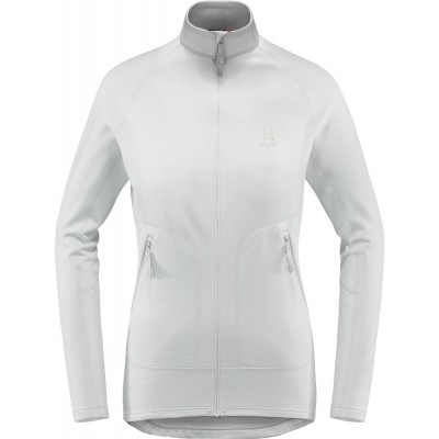 Haglöfs Heron Jacket Women Stone Grey Mountain Pro Shop Val d'isère