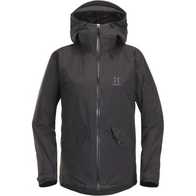 Haglöfs Khione 3L Proof Jacket Women Slate Mountain Pro Shop Val d'isère