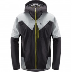Haglöfs L.I.M Touring Proof Jacket Men Slate / Stone Grey Mountain Pro Shop Val d'isère