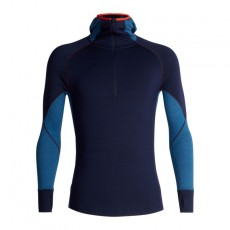 Icebreaker Men 260 Zone LS Half Zip Midnight Navy