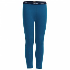 Icebreaker Kids 200 Oasis Legging Prussian Blue Mountain Pro Shop Val d'isère