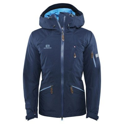 Elevenate Woman Zermatt Ski Jacket Twilight Blue Mountain Pro Shop Val d'isère
