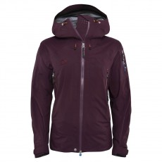 Elevenate Woman Bec de Rosses Jacket Aubergine